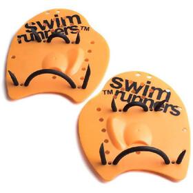Swimrunners Go The Distance Hand Paddles orange/black